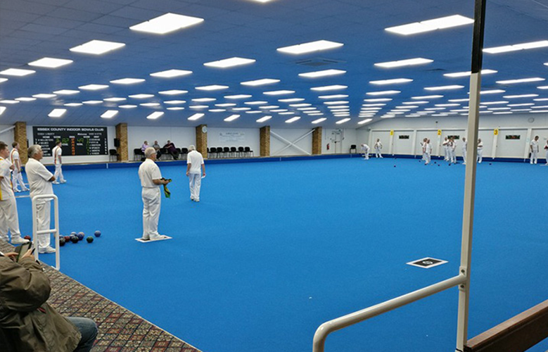 Essex County Bowls Club Indoor Rink